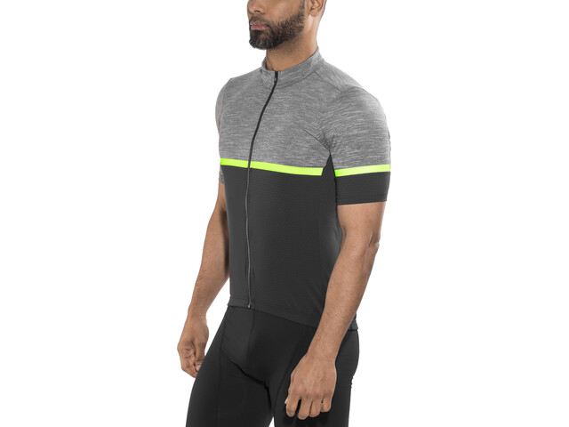 Sportful Giara Bike Jersey Shortsleeve Men grey/black